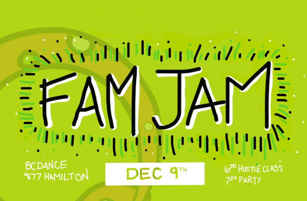 OURO FAM JAM DEC 9th!