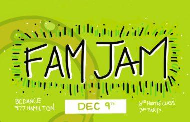 OURO FAM JAM DEC 9th!